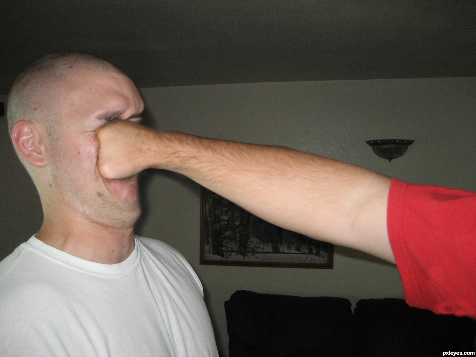 Image result for punch in the face